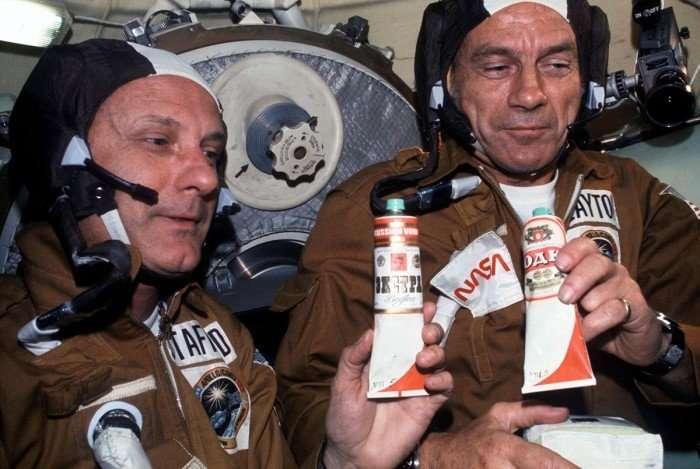 Космическую еду в тюбиках можно будет попробовать на ВДНХ