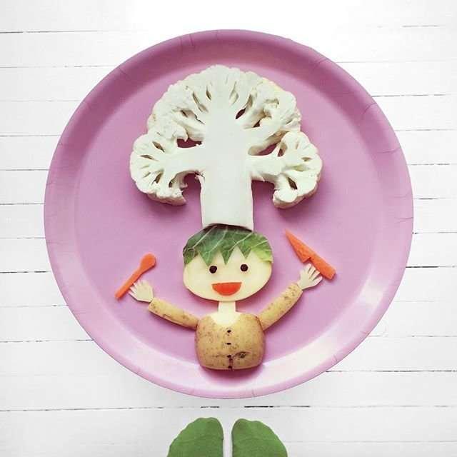 Еда как искусство от Иды Скивенс