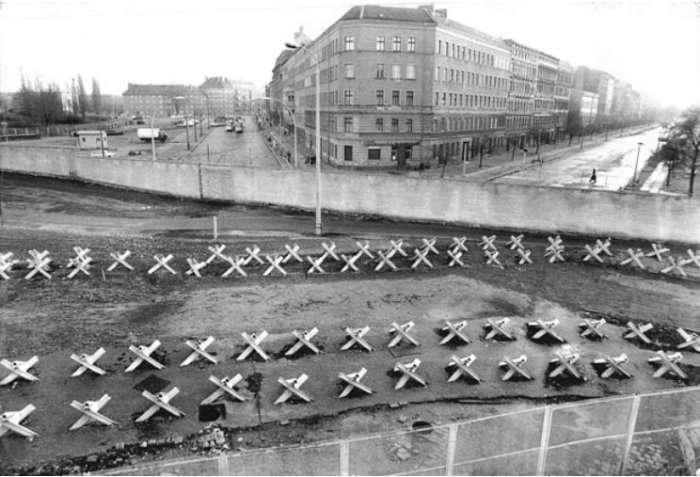 Берлин времен Стены