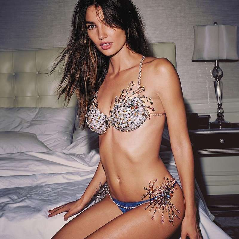 Лили Олдридж представит бюстгальтер Victoria's Secret за 2 млн долларов