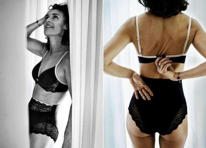 Никаких моделей в рекламе нижнего белья