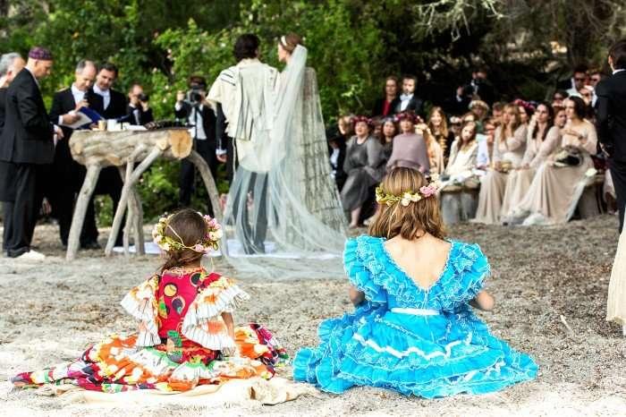 Свадьба Софии Санчес Барренечеа и французского модельера
