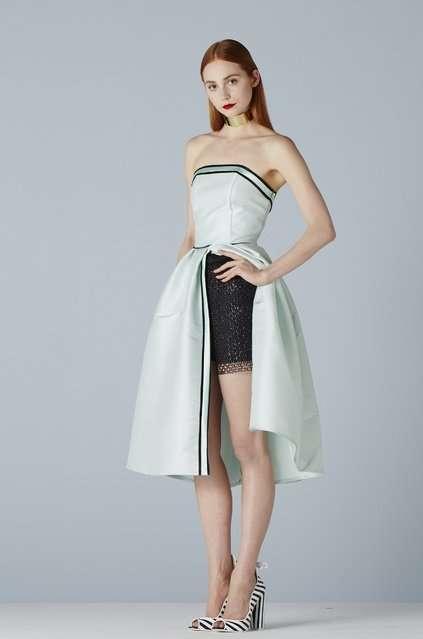 Свадебная и вечерняя мода от Suzanne Ermann 2014