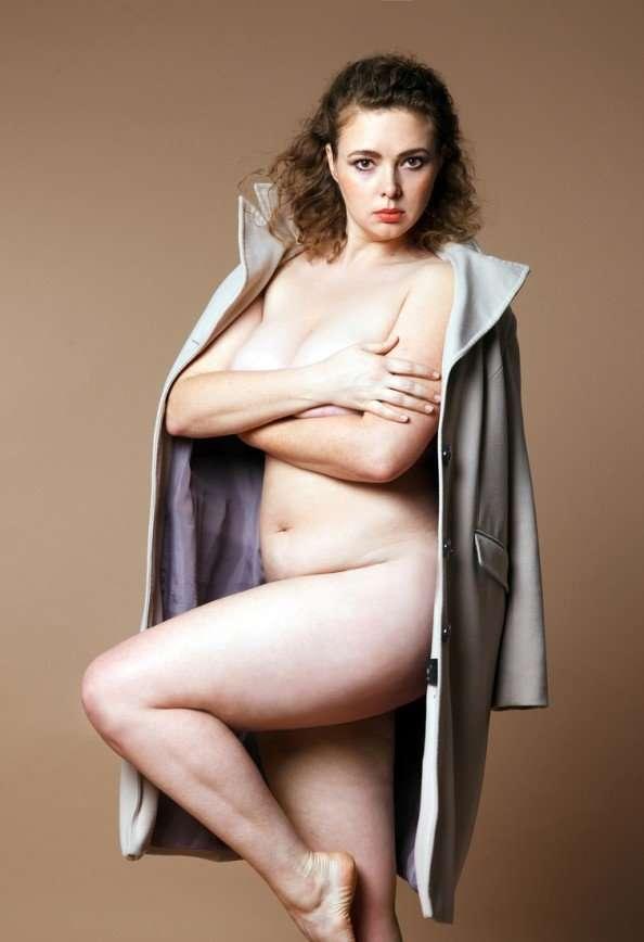 Российские модели plus-size приняли участие в откровенной фотосессии