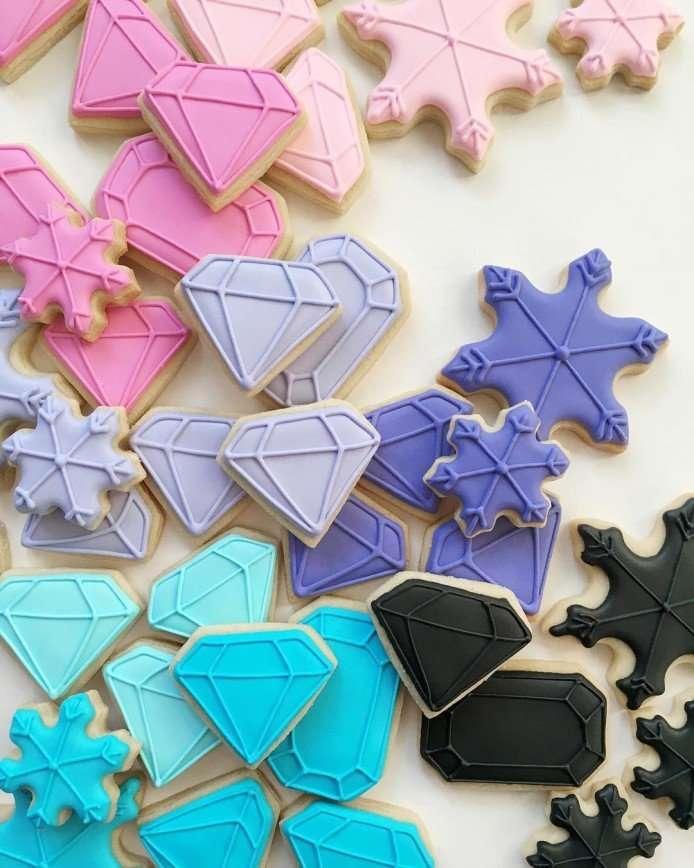 Дизайнерское печенье от Холли Фокс