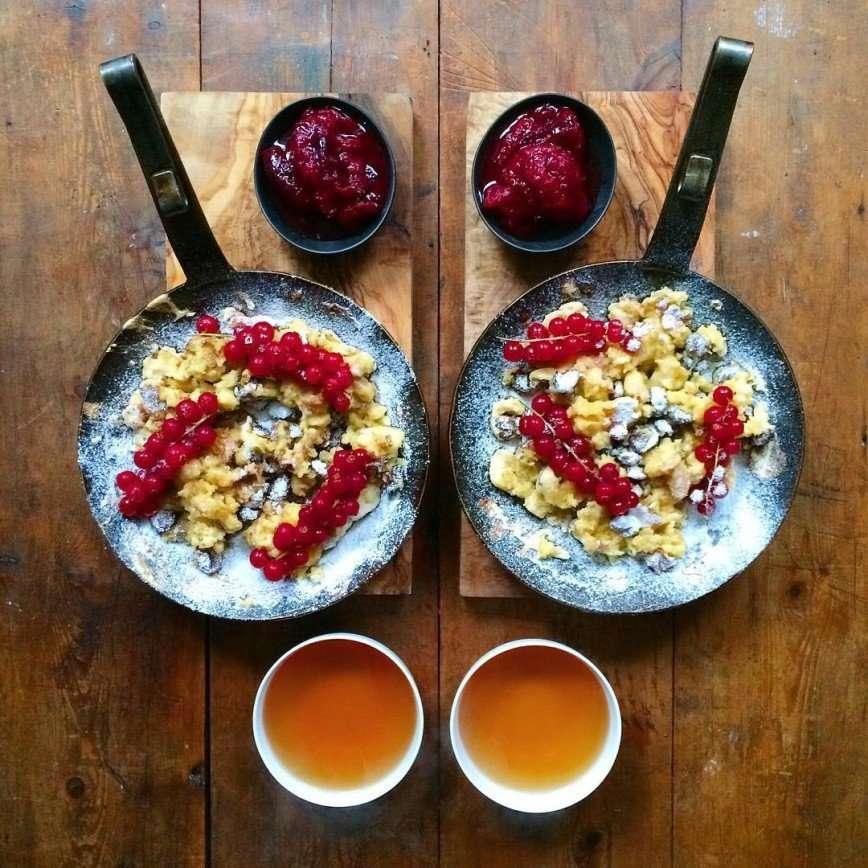 С добрым утром или симметричный завтрак