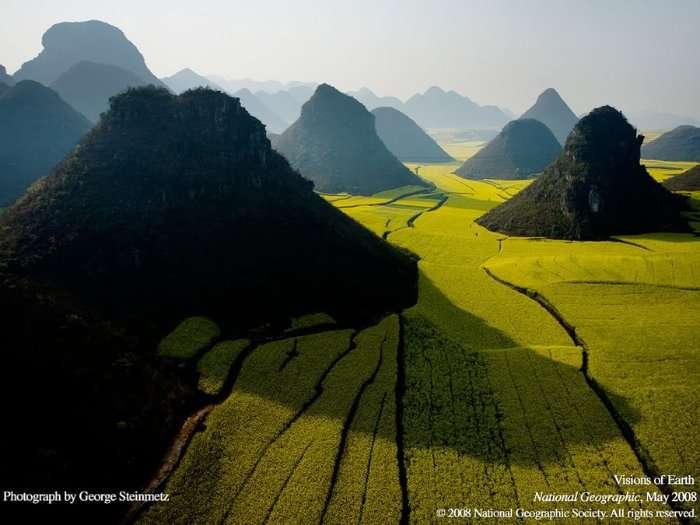 Смотрим на мир с высоты. Аэрофотографии Джорджа Стейнмеца