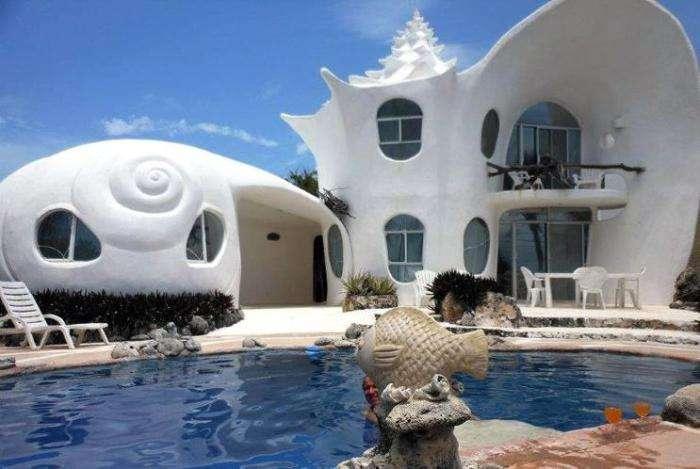 Дома, которые выглядят как живые