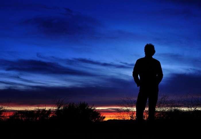 Силуэты на закате
