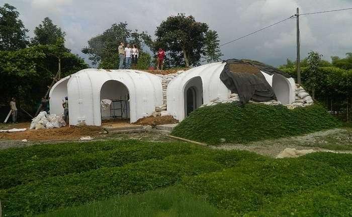 Очаровательный модульный домик хоббита, который можно построить всего за 3 дня