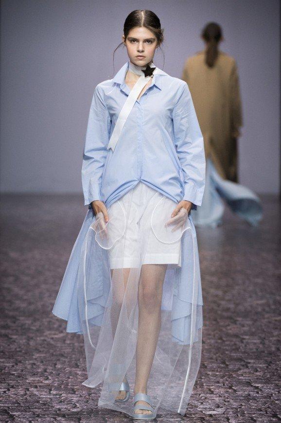 Показ Victoria Andreyanova на Неделе моды в Москве