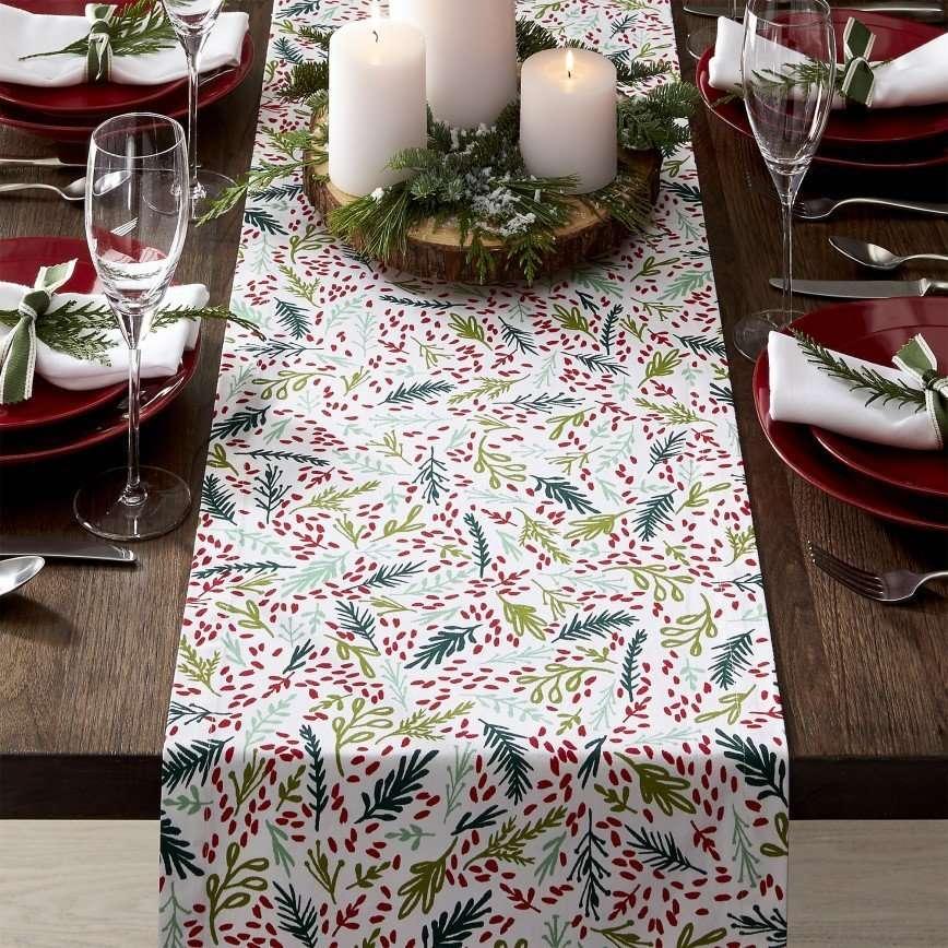 Идеи новогодней сервировки для вашего стола