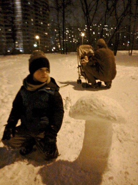 Дневник Адама # 75: Снег как искусство